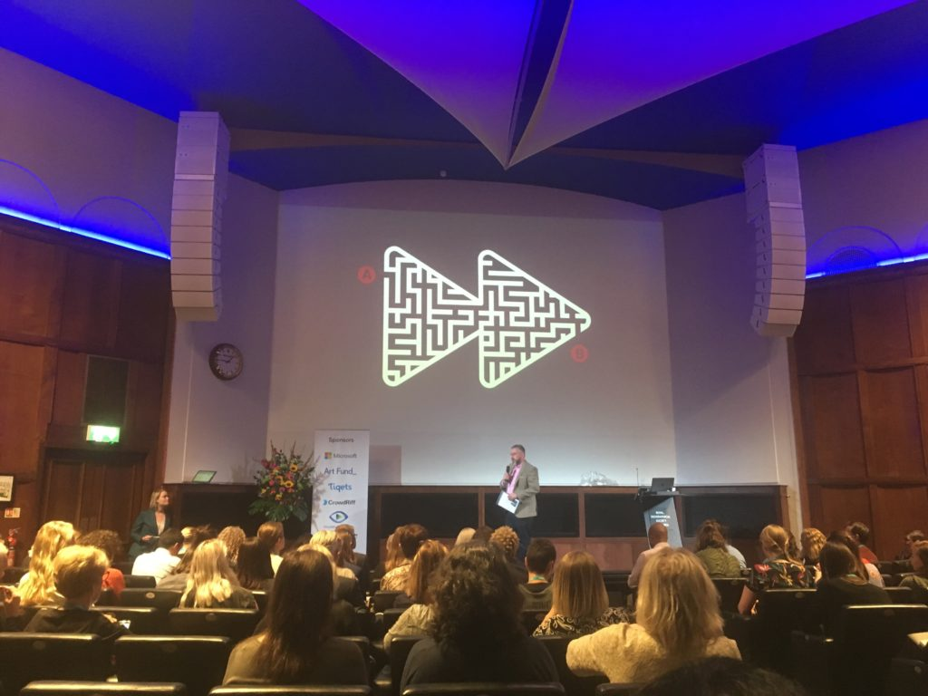 Jim introduces MuseumNext London 2019