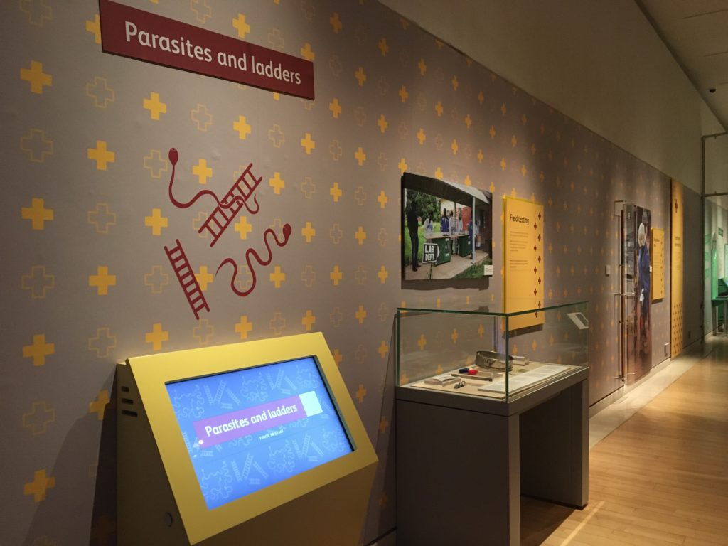 Parasites and Ladders digital exhibit