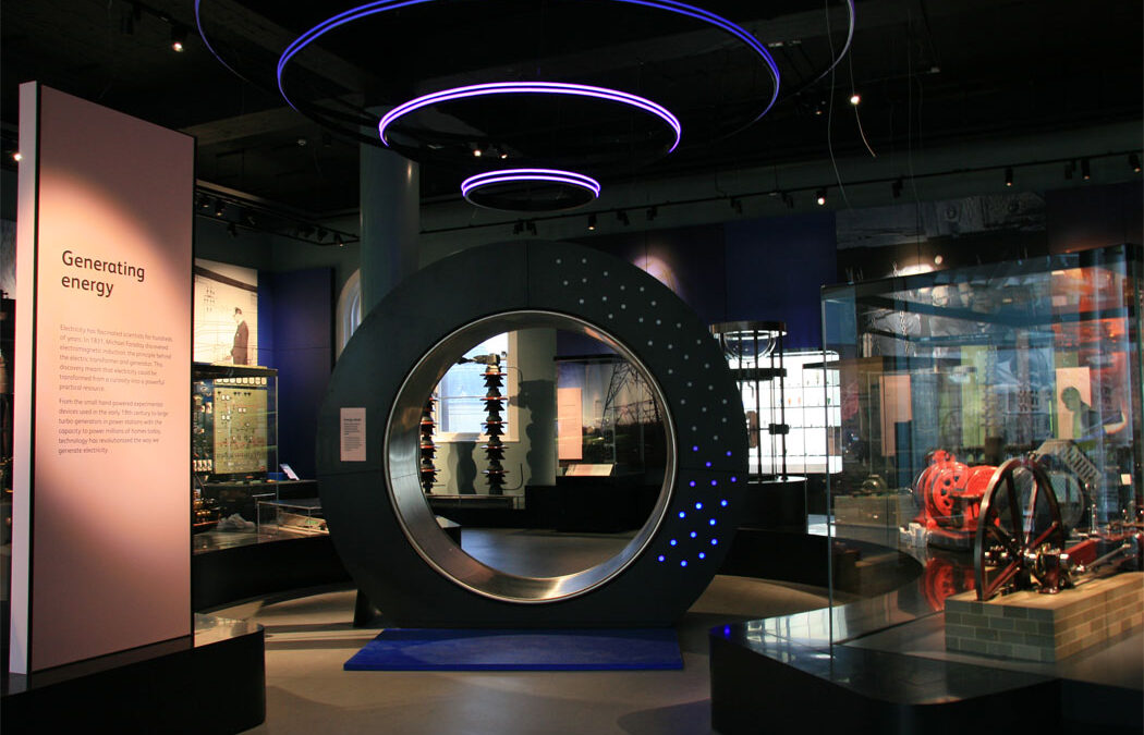Science and Technology Interactives at National Museum of Scotland